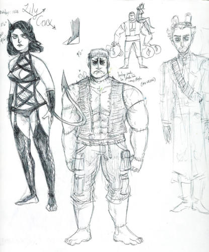 Episode 1 Villain Concepts
